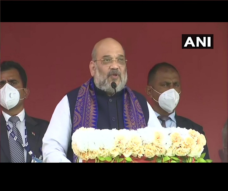 Didi will also say 'Jai Shri Ram' by the time West Bengal polls end: Amit Shah's dig at Mamata Banerjee