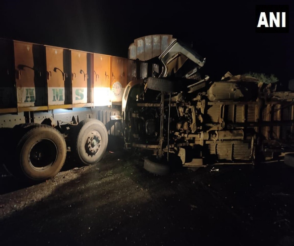 13 killed, several injured in bus-truck collision in Andhra Pradesh's Kurnool; CM Reddy expresses grief
