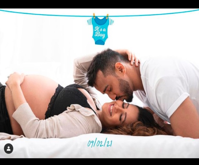 'Oh boy': Anita Hassanandani-Rohit Reddy welcome first child; Ekta Kapoor, other TV celebs pour in wishes