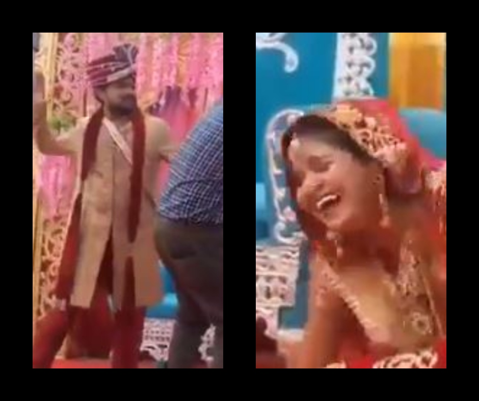 Viral video: Groom slaps photographer during wedding photoshoot; bride goes ROFL