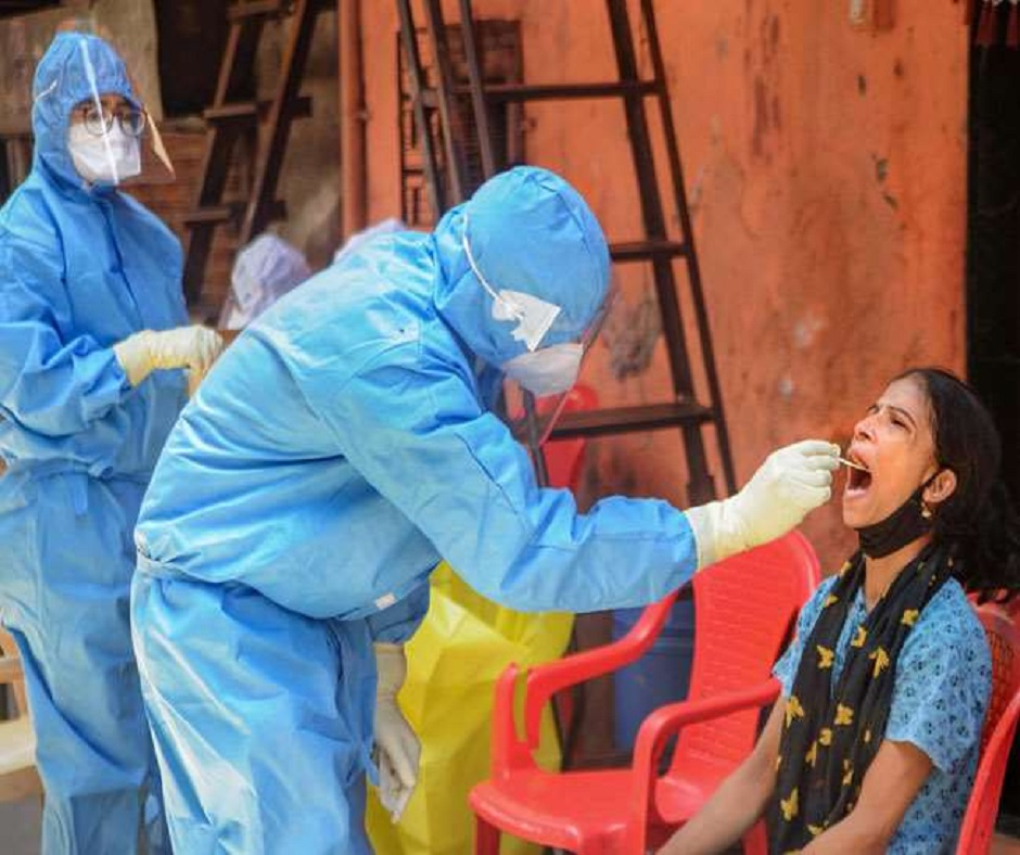 India reports over 14,000 new COVID-19 cases in last 24 hours, highest single-day spike since January