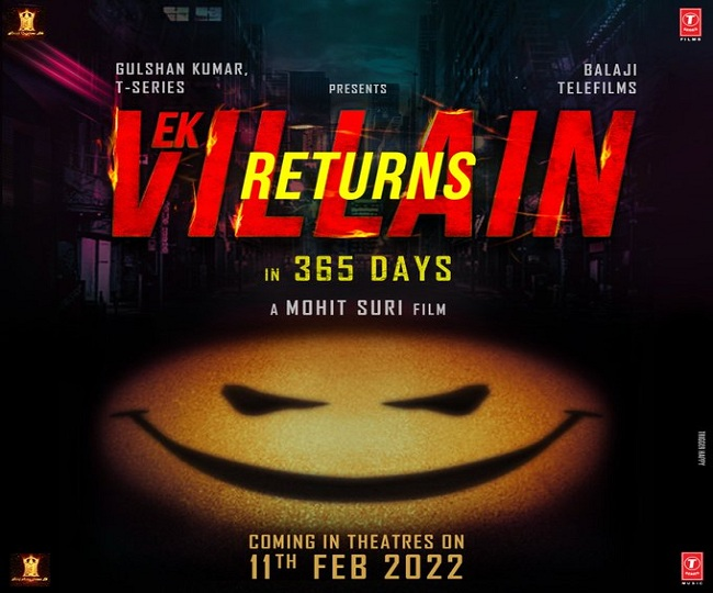 Ek Villain Returns: First look revealed, John Abraham, Arjun Kapoor, Disha Patani, Tara Sutaria-starrer to release on THIS date