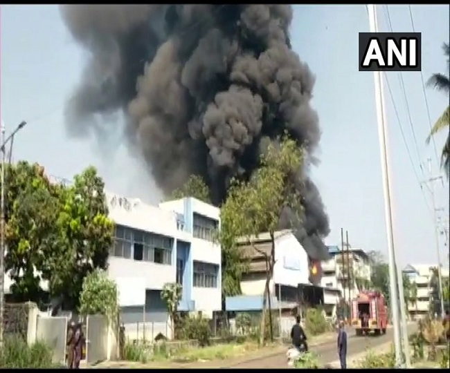 Maharashtra: Fire breaks out at a chemical factory in Navi Mumbai's Taloja, fire tenders rushed to spot