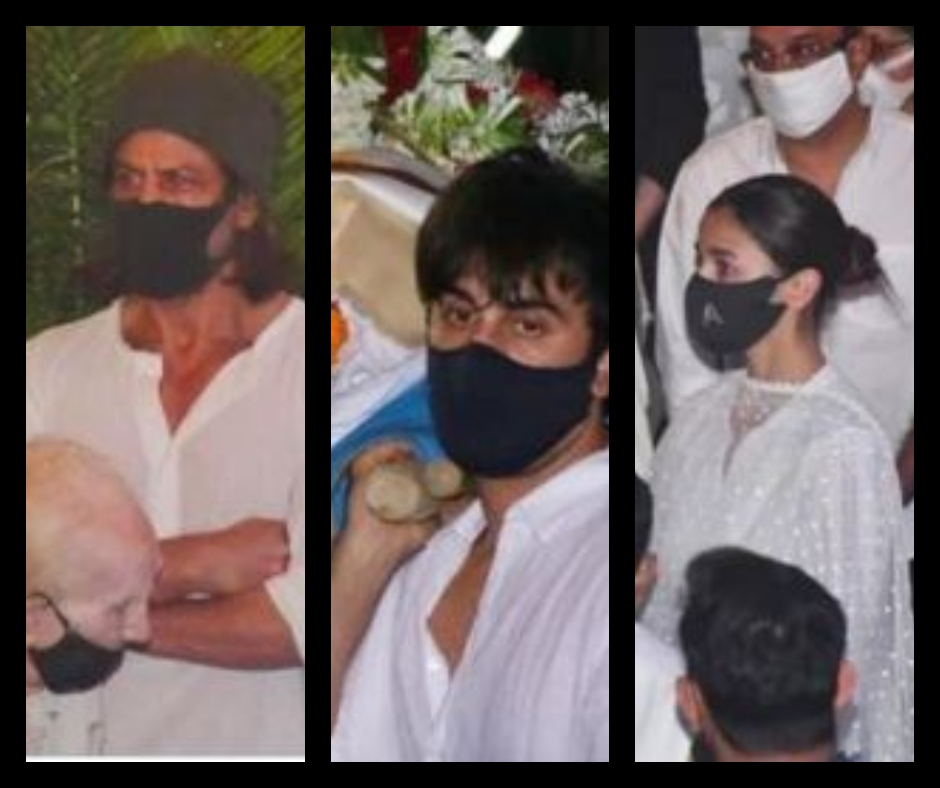 Rajiv Kapoor funeral: Ranbir Kapoor, Shah Rukh Khan, Alia Bhatt and others join the last rites of the veteran actor