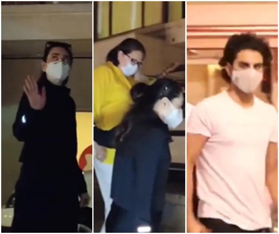 Kareena Kapoor to deliver second baby anytime soon; Karisma, mother Babita and Ibrahim Ali Khan visit Bebo | See Pics