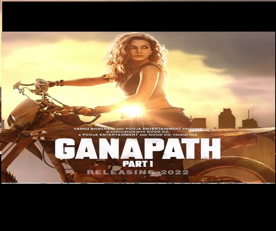 Ganapath: Kriti Sanon dons badass avatar as she joins Tiger Shroff for this action-packed thriller | Watch