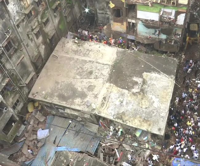 Maharashtra: 1 dead, 5 injured as building collapses in Thane's Bhiwandi town