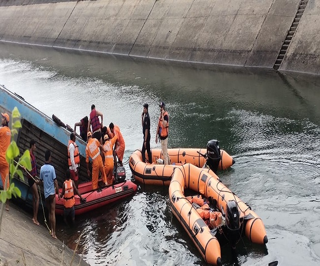 45 dead as bus carrying 54 passengers falls into canal in MP's Sidhi district; CM announces Rs 5 lakh ex-gratia