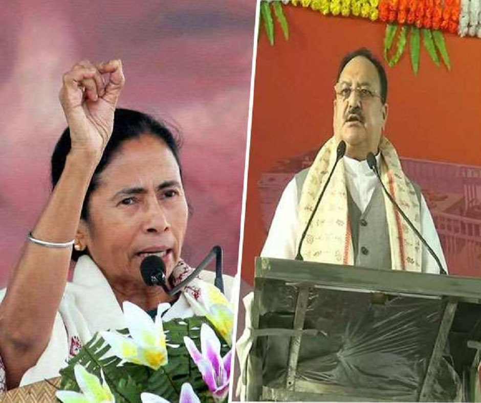 In run-up for West Bengal Assembly Elections, Nadda launches BJP's 'Rath Yatra'; TMC replies with bike rally