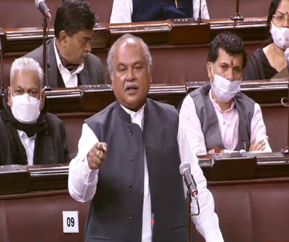 'Nothing wrong in farm laws but in protest': Narendra Singh Tomar tears into Oppn for misleading farmers