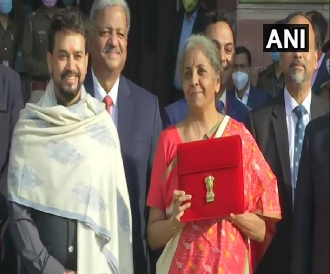 Union Budget 2021: Nirmala Sitharaman goes digital, replaces traditional 'Bahi-khata' with Made-in-India tablet