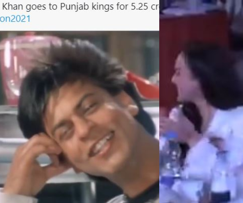 Memes flood internet after Preity Zinta's Punjab Kings team buys Shahrukh Khan in IPL 2021