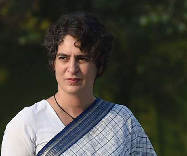 Enroute Rampur to meet family of deceased farmer, cars of Priyanka Gandhi's cavalcade collide with each other