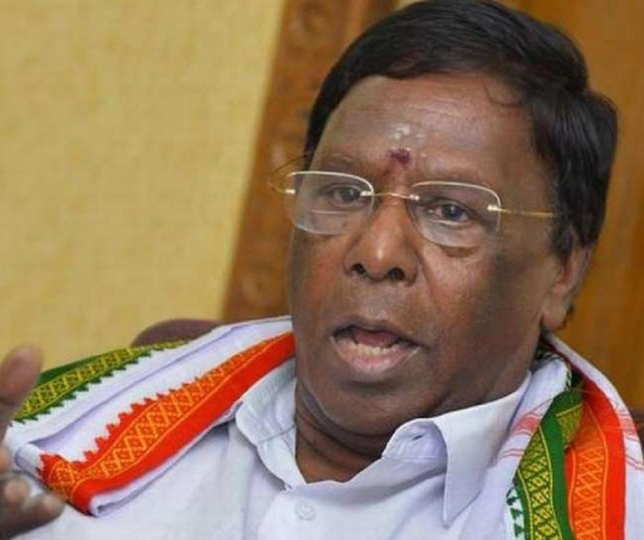 Puducherry Political Crisis: V Narayanasamy's Congress govt to face floor test on Monday