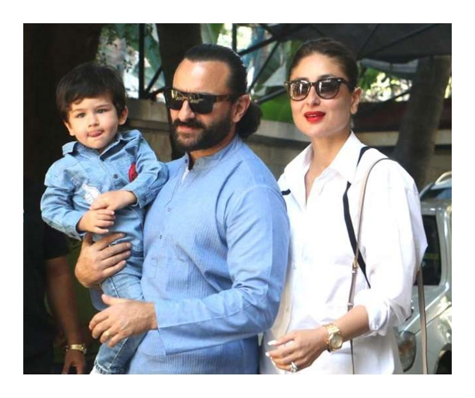 Taimur and Saif Ali Khan spotted in car ahead of Kareena Kapoor's 'good news'