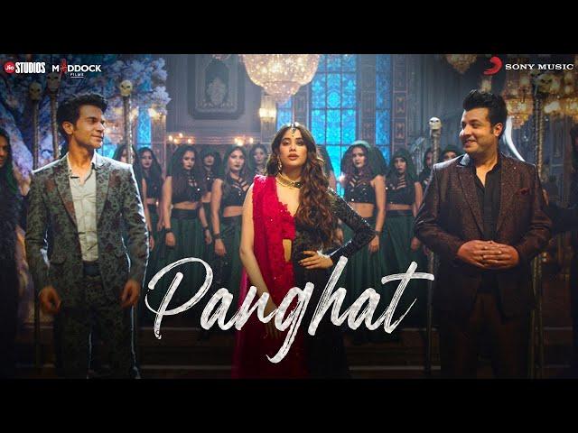 Roohi: Janhvi Kapoor casts a spell on Rajkummar Rao, Varun Sharma in 'Panghat' song | WATCH