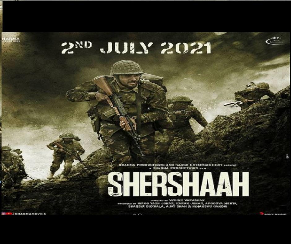 Shershaah: Sidharth Malhotra, Kiara Advani-starrer all set to hit theatres in July