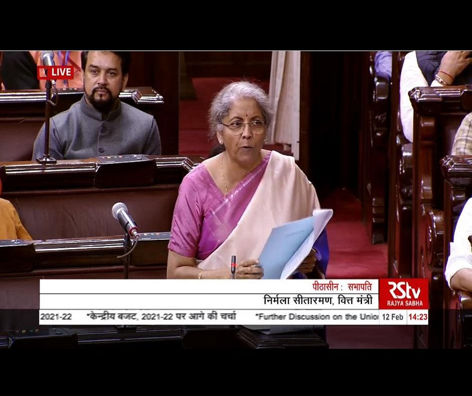 Union Budget 2021 instrument for 'Atmanirbhar Bharat', will help poor but not 'damaads': Nirmala Sitharaman
