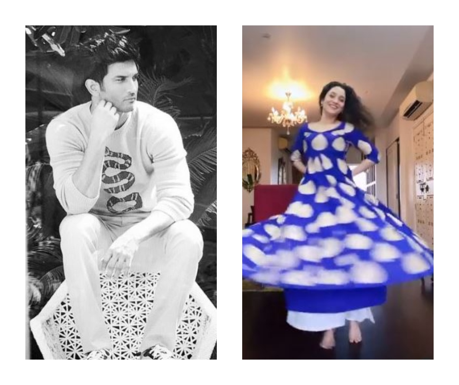 WATCH: Ankita Lokhande shares dance videos ahead of Valentine's Day; Fans remember Sushant Singh Rajput