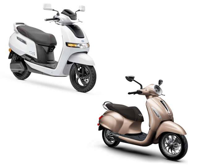 TVS iQube Electric Vs Bajaj Chetak Electric: Know which e-scooter is better for daily use