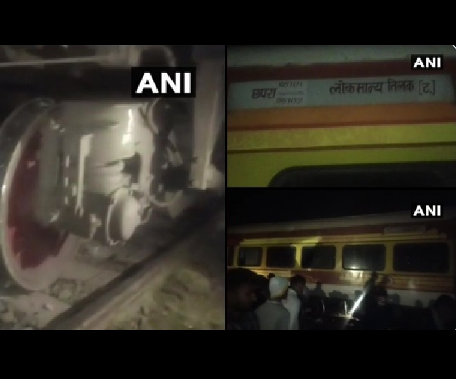 Two coaches of Lokmanya Tilak Express derail near Bihar's Chhapra, no casualty reported
