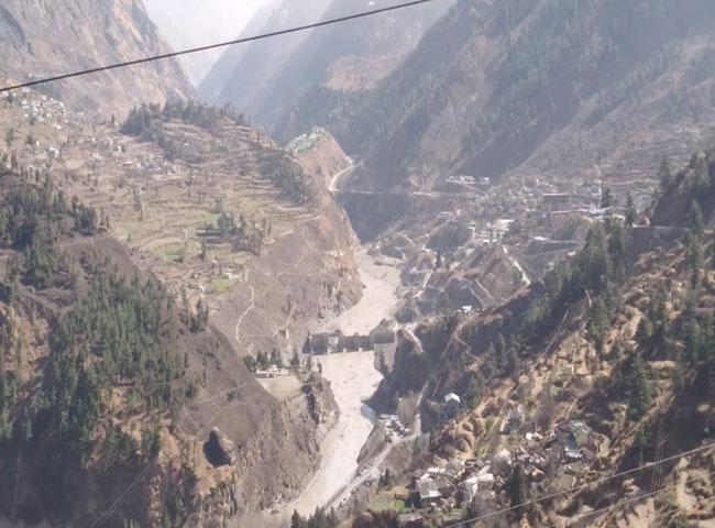 Uttarakhand Floods: Rishiganga Power Project damaged in glacier breaks off at Chamoli | In Pics