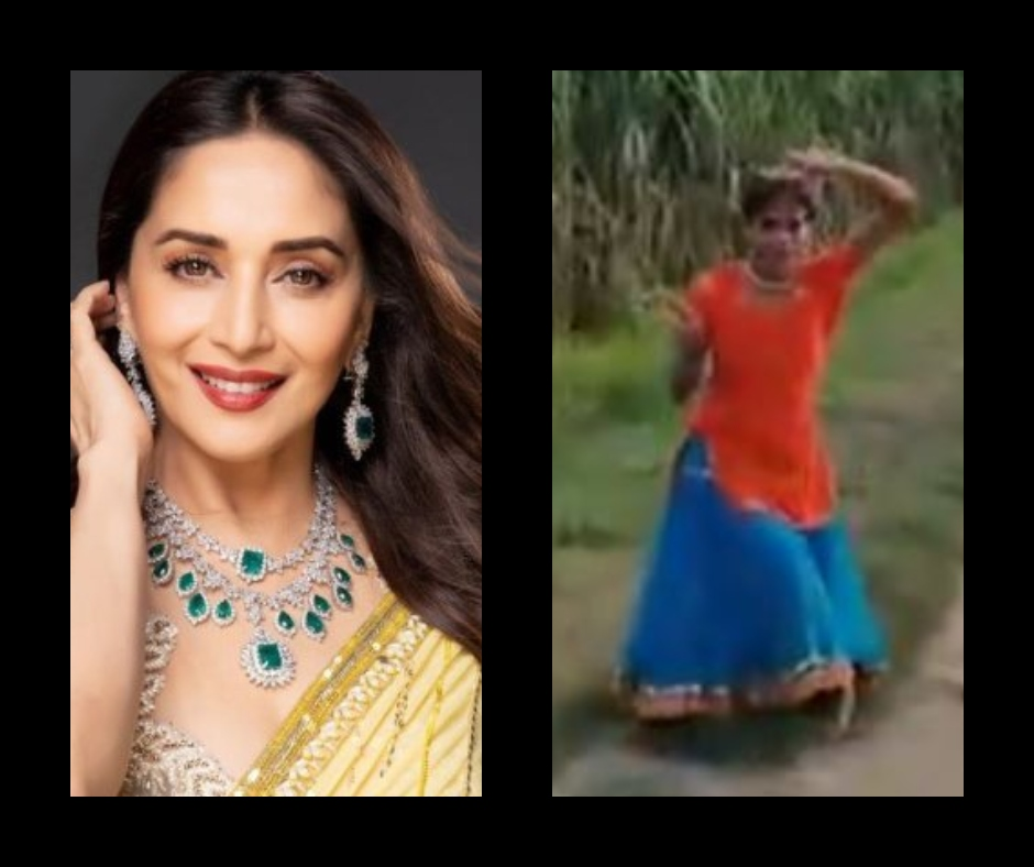 Madhuri Dixit is all praises for this village girl's dance video on Mother India's song