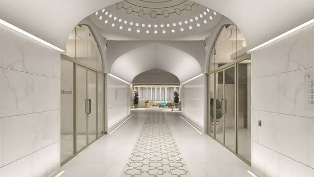 Microsoft's Taj Mahal-inspired office in Noida is spectacularly beautiful and Desi Twitter already wants to send CVs