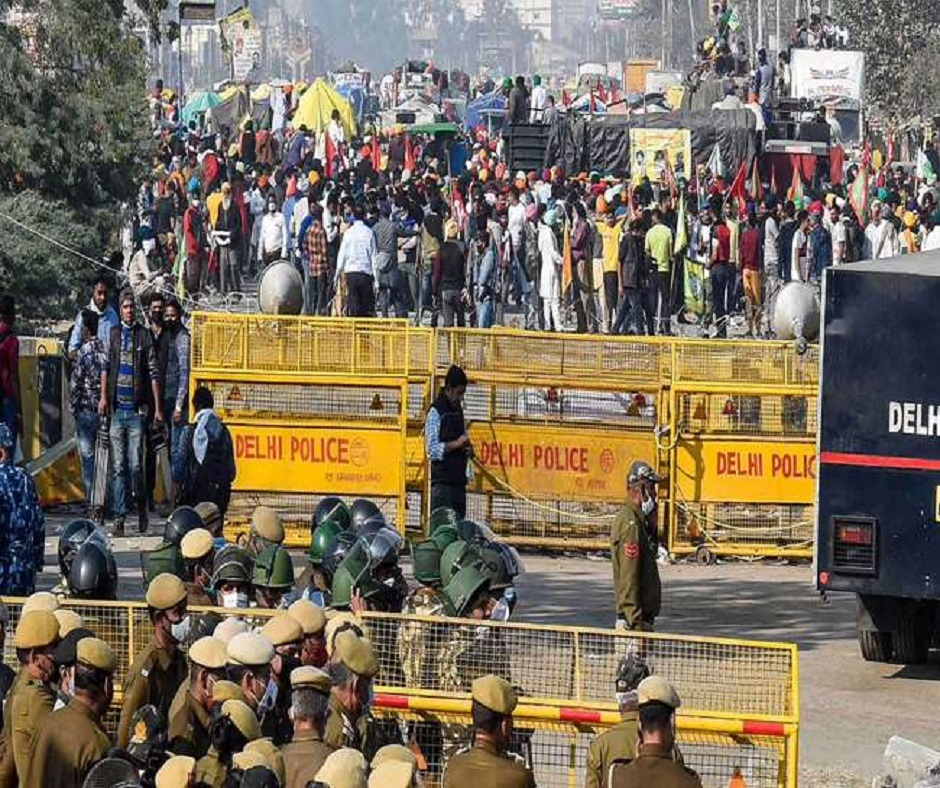Farmers' Protest: Internet services suspended for 2 days at Singhu, Ghazipur and Tikri borders