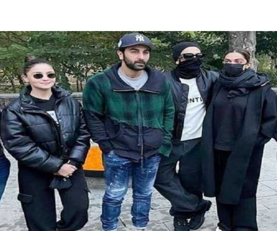 In Pics: Ranveer- Deepika, Alia- Ranbir, Bollywood's two fav couples pose together at Ranthambore National Park