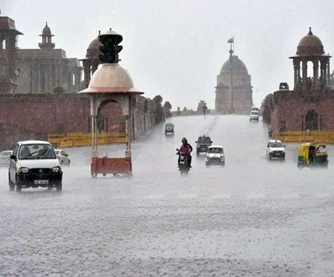 Delhi Weather Updates: Rains better Delhi's air quality, IMD predicts light showers, hailstorm in next 24 hours