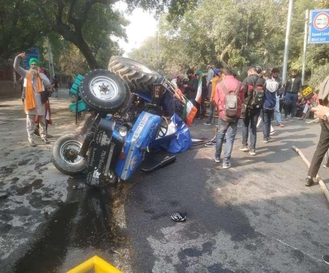 Farmers run riot in Delhi on Republic Day