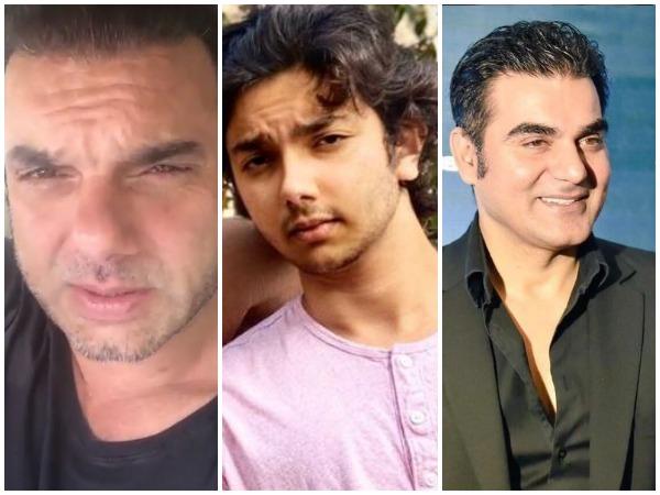 FIR registered against Arbaaz Khan, Sohail Khan, son Nirvaan for THIS reason