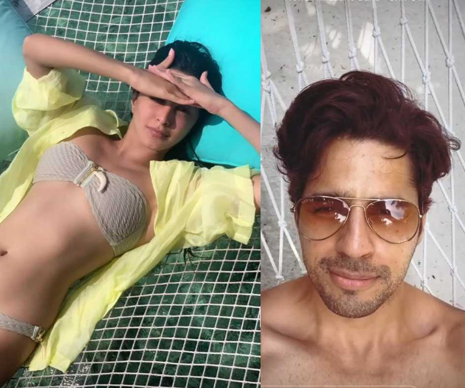 Did Kiara Advani wear Sidharth Malhotra's shirt in Maldives? Check out the pictures here