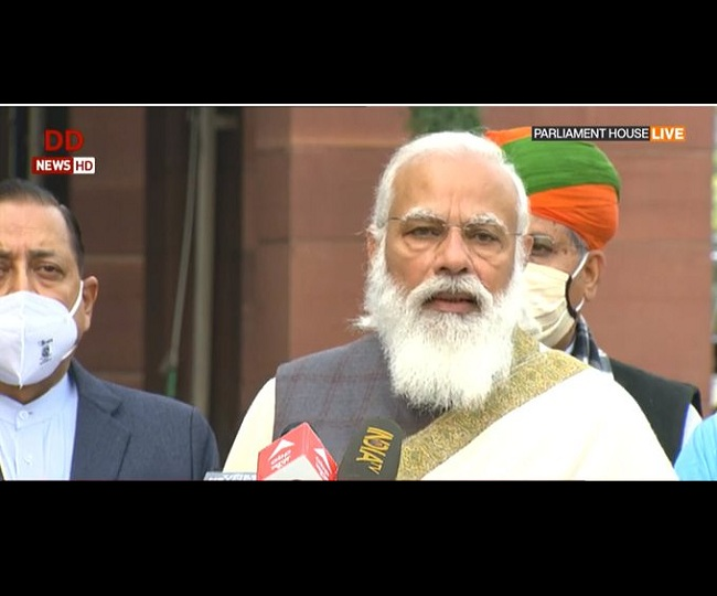 'Union Budget 2021 will be part of 4-5 mini budgets announced in 2020': PM Modi ahead of Budget Session