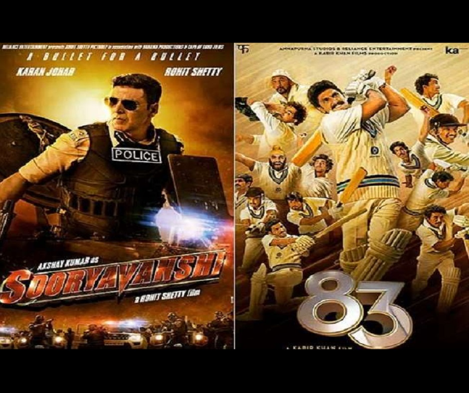 From Sooryavanshi to 83 to Laal Singh Chaddha; these 14 films will hit theatres in 2021 | Details inside
