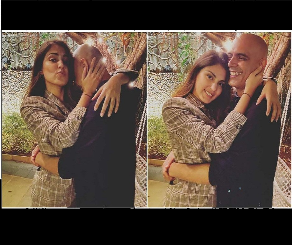 'Irresponsible choice...': Rajiv Lakshman deletes pic with Rhea Chakraborty hours after 'My Girl' post