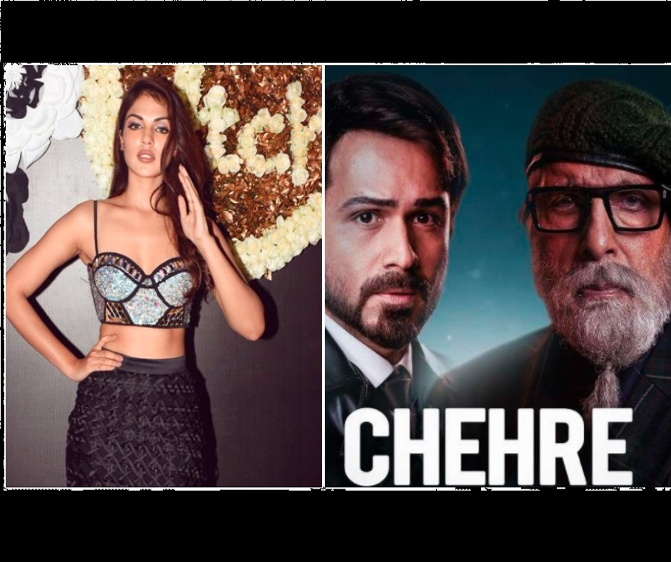 Rhea Chakraborty to return to silver screen with Chehre co-starring Amitabh Bachchan, Emraan Hashmi; director says 'she will bounce back'