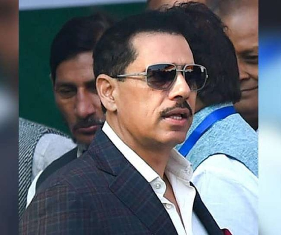Income Tax officials record Robert Vadra's statement in Benami property case