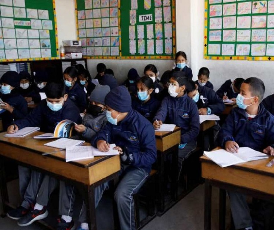 Delhi Schools to reopen from January 18 for class 10th and 12th students