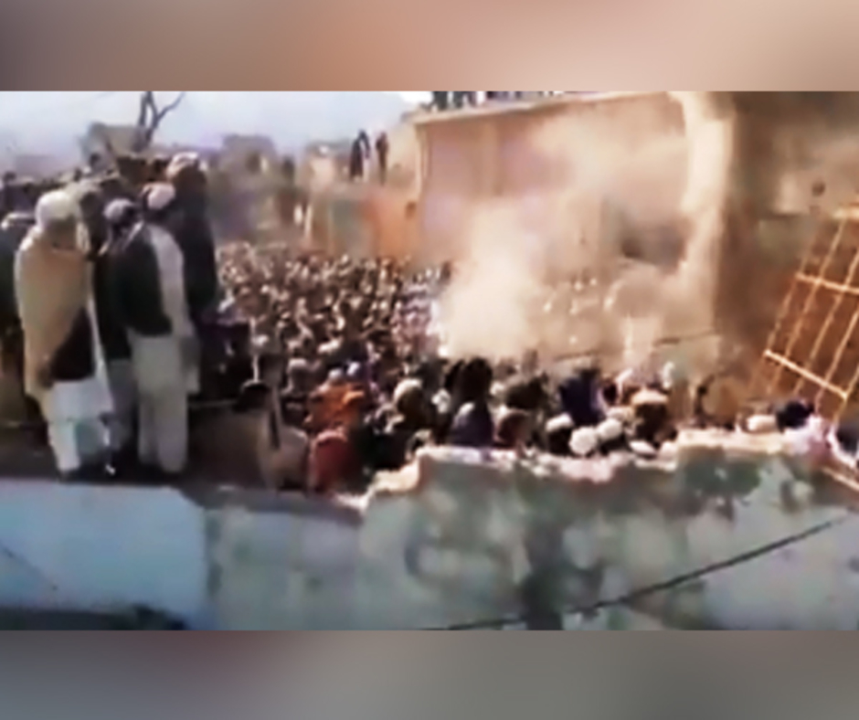 Angry mob demolishes Hindu temple in Pakistan, several arrested
