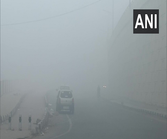 Weather Forecast: 17 trains delayed as dense fog shrouds Delhi-NCR; cold wave to continue till Jan 31 in north India