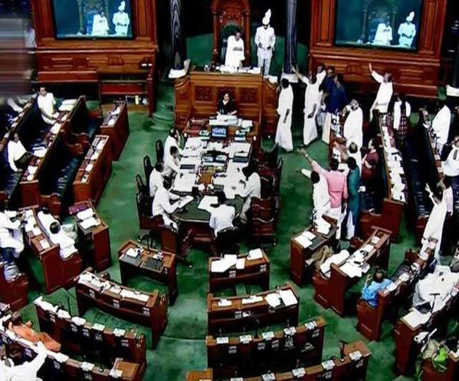 Parliament Highlights: Rajya Sabha adjourned for 3rd time today as oppn leaders continue sloganeering over Pegasus