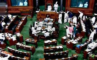 Parliament Highlights: Rajya Sabha adjourned for 3rd time today as oppn..
