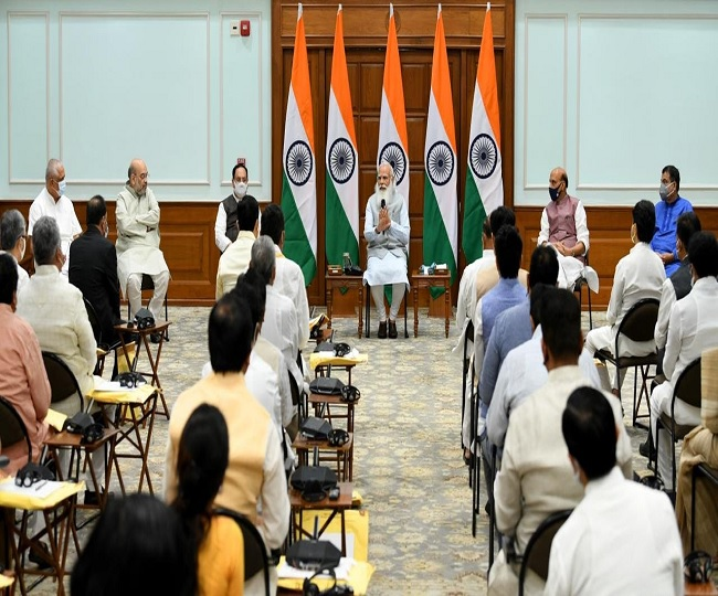 Modi Cabinet 2.0 focuses on experience, qualification; Scindia, Sonawal become ministers, Anurag Thakur, Kishan Reddy elevated