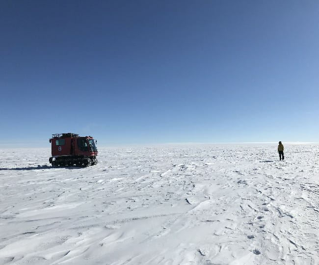Hidden network of lakes discovered beneath Antarctica's ice sheets due to global warming