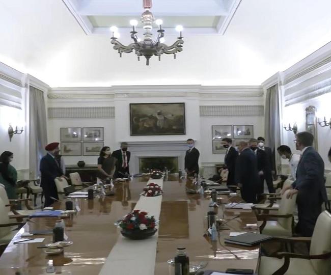 Deeply appreciate the work we did together: US Secy of State Antony Blinken after meeting EAM S Jaishankar