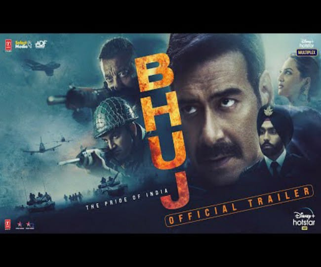 Bhuj: The Pride of India Trailer: Ajay Devgn, Sanjay Dutt's acting superiority stokes emotions, patriotism in equal proportions   WATCH