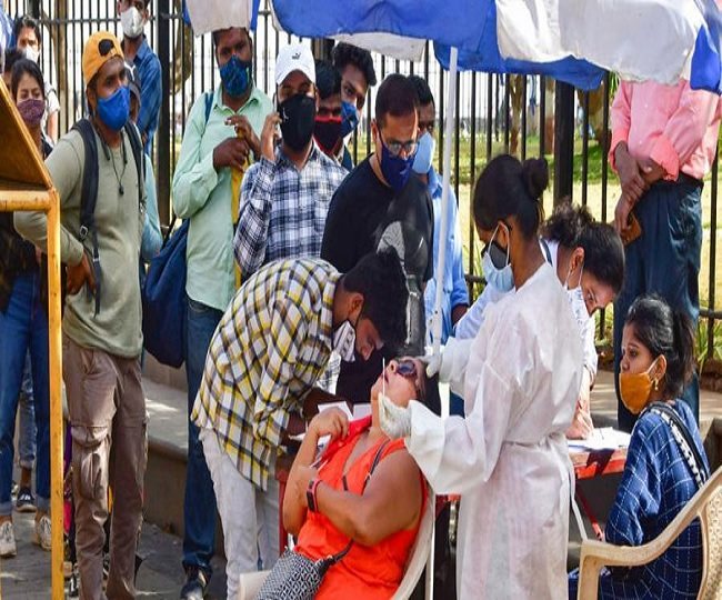 India COVID Tally: 41,649 cases, 593 deaths in last 24 hours; active cases rise for 4th straight day