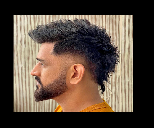 MS Dhoni leaves his fans spellbound with new hairdo. Watch pics
